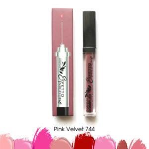 Мултимаск матово червило за обемни устни Pink Velvet