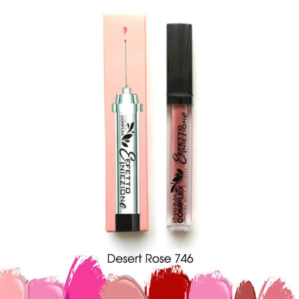 Мултимаск матово червило за обемни устни Desert Rose