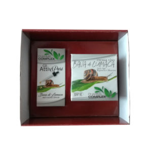 Подаръчен комплект за лице с екстракт от охлюви + серум