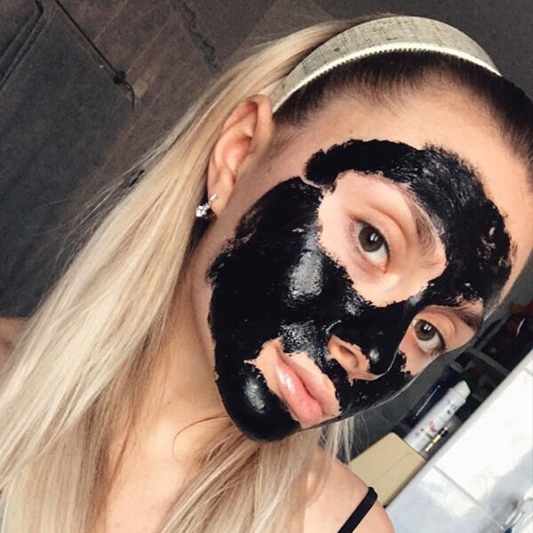 Мултимаск черна маска за лице