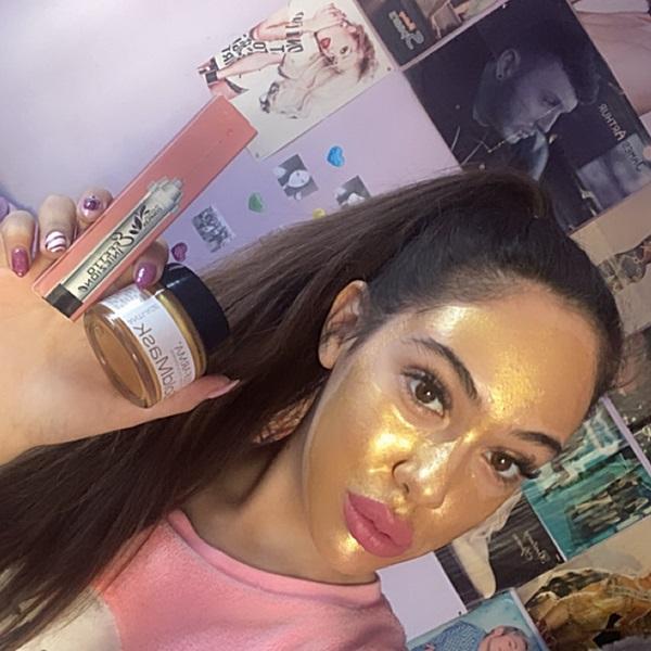 Мултимаск златна маска за лице